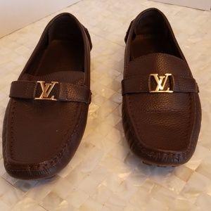 Louis Vuitton Monte Carlo Moccasins Sz 42
